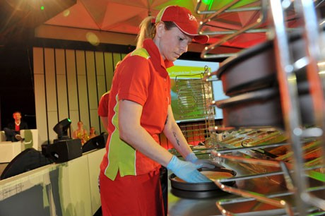 Veranstaltung: Joey´s Pizza in Aktion